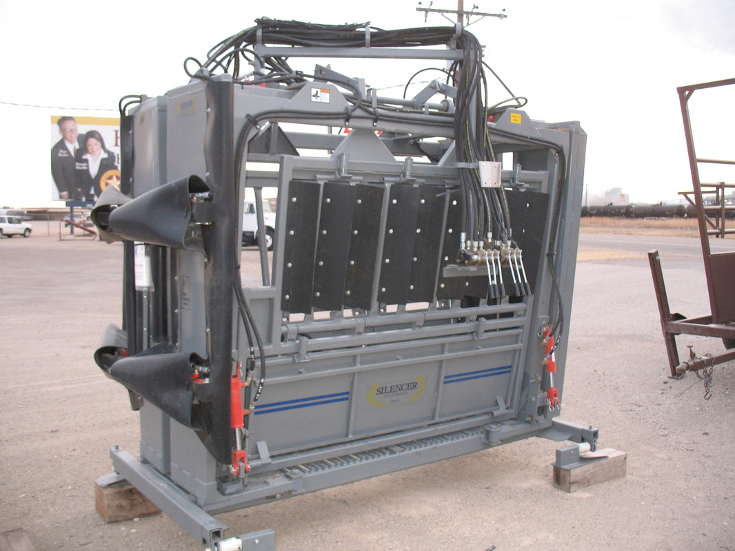 Used Cab And Chassis Trucks For Sale >> New Silencer Hydraulic Squeeze Chutes