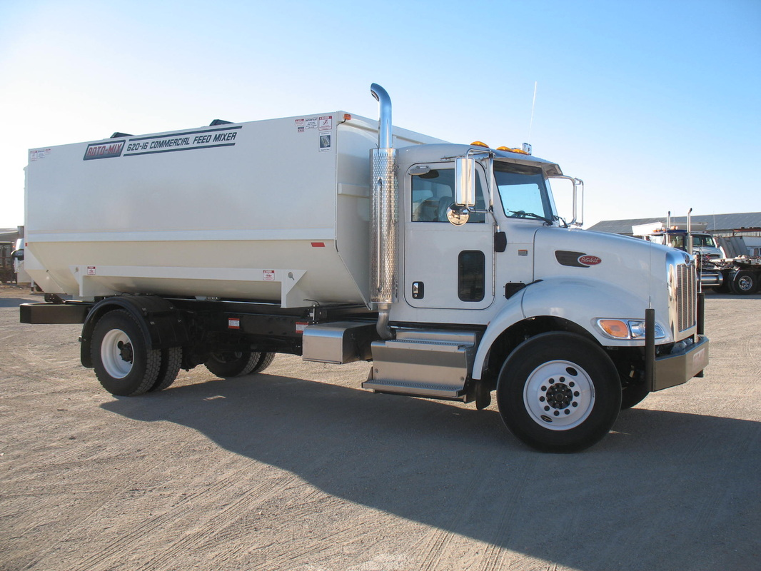 End Dump Truck >> New ROTO-MIX Truck and Trailer Units