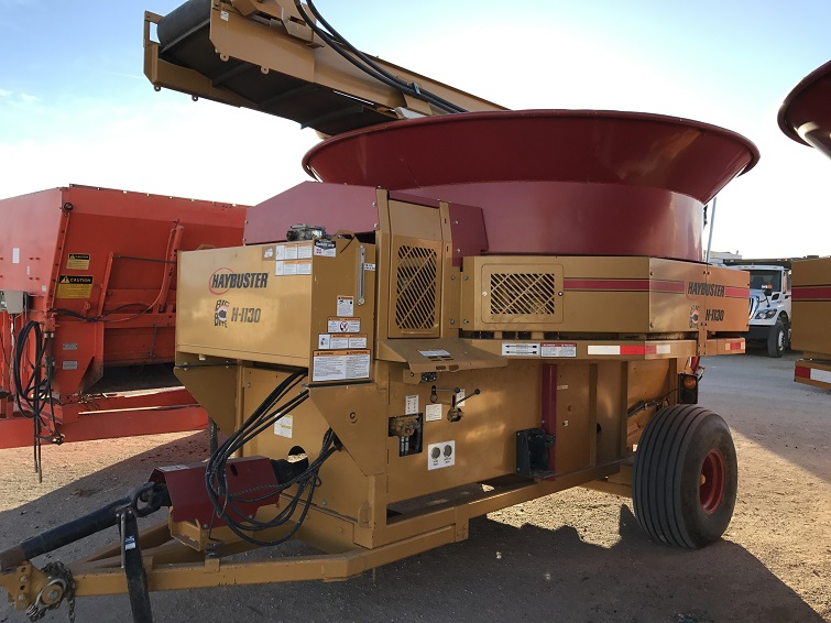 Used Tub Grinders and Bale Processors Section