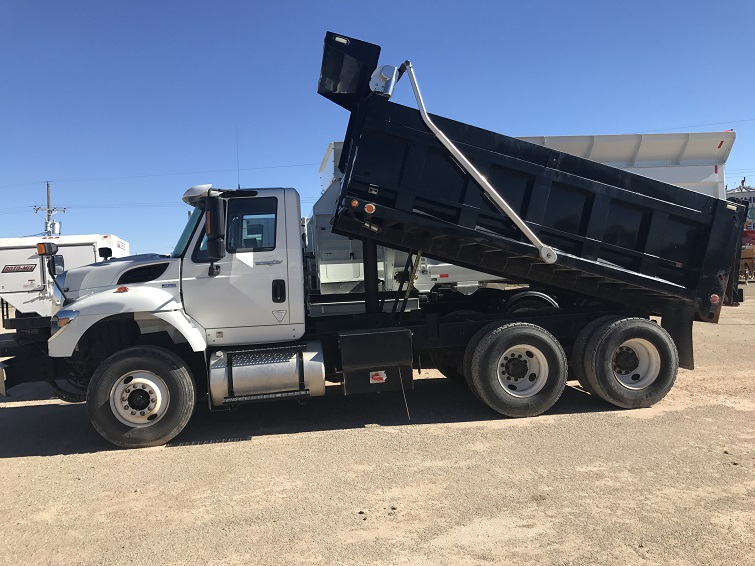 Used Dump Trucks and Water Trucks Section