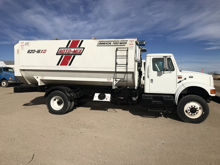 Used Feed Truck Section