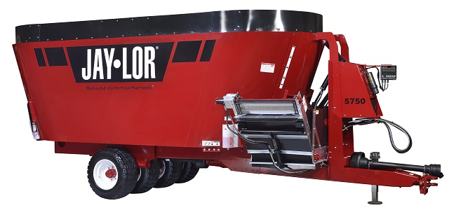 New Jaylor TMR Twin Rotor Mixer