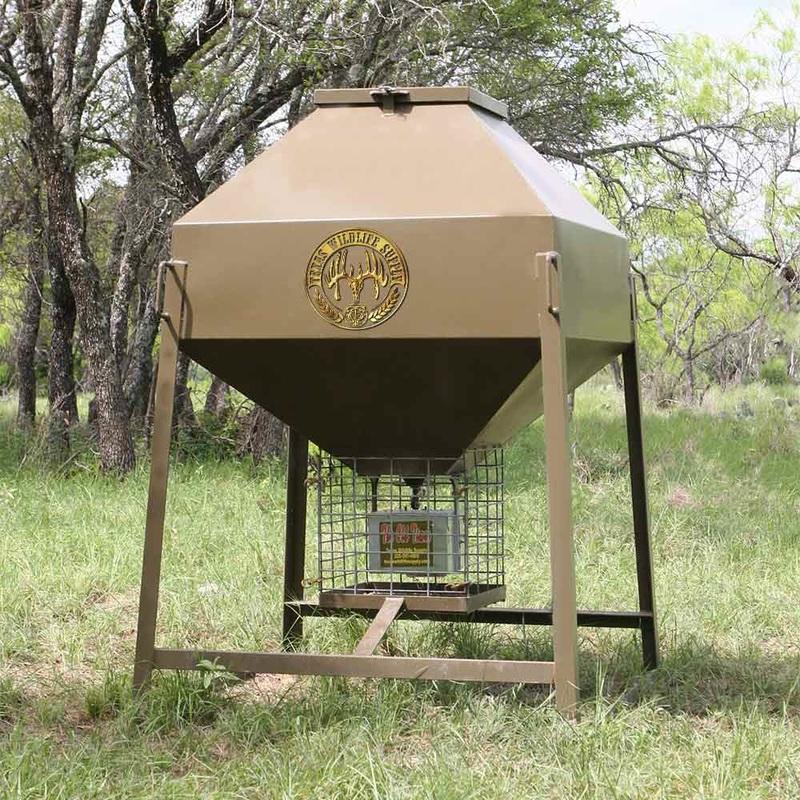 New Texas Wildlife Deer Feeders